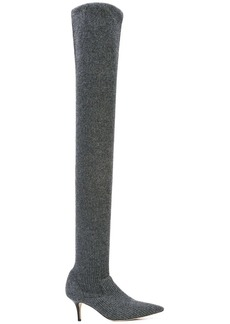 Monse over the knee knit sock boots