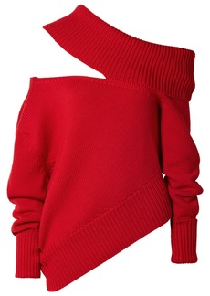 Monse Oversized Cutout Wool Sweater