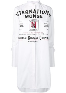 Monse oversized printed shirt
