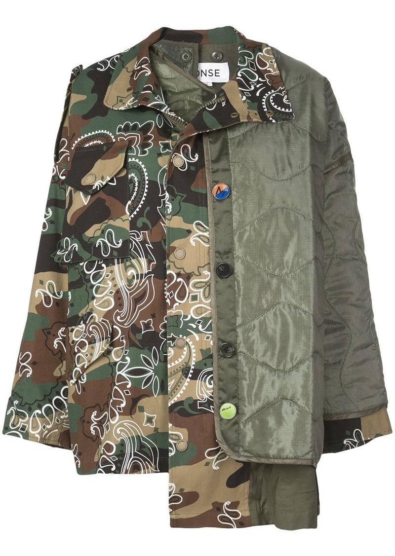 Monse panelled oversized-fit jacket