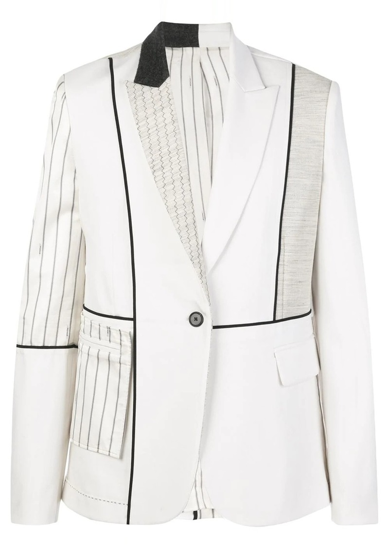 Monse patchwork blazer