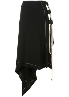 Monse rope draped skirt