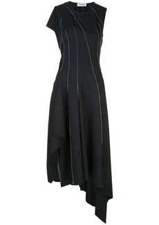 Monse falling thread asymmetric dress