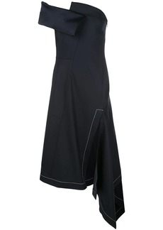 Monse strapless asymmetric dress