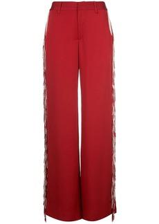 Monse fringe wide-leg trousers