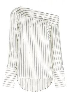 Monse striped longsleeved blouse