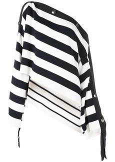Monse striped off shoulder sweater