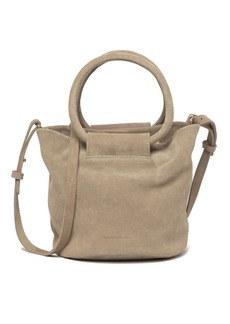 Monserat De Lucca Itzel Suede Crossbody Bag