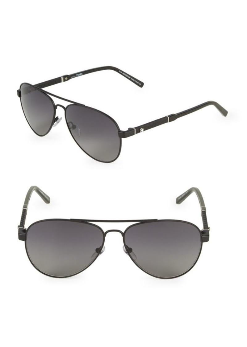 3cc01e4c6 Montblanc 59MM Aviator Sunglasses | Sunglasses