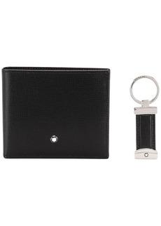 Montblanc bifold wallet and keyring set