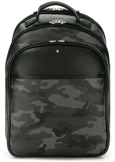 Montblanc camouflage print backpack