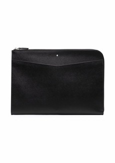 Montblanc grained leather laptop bag