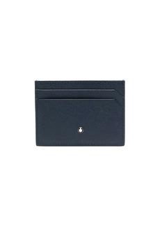 Montblanc logo-plaque textured-finish cardholder