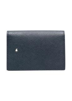 Montblanc logo-plaque textured-finish wallet