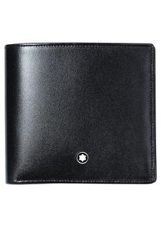 Men's Montblanc Meisterstuck Leather Bifold Wallet - Black