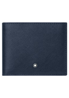 Men's Montblanc Sartorial Leather Wallet - Blue