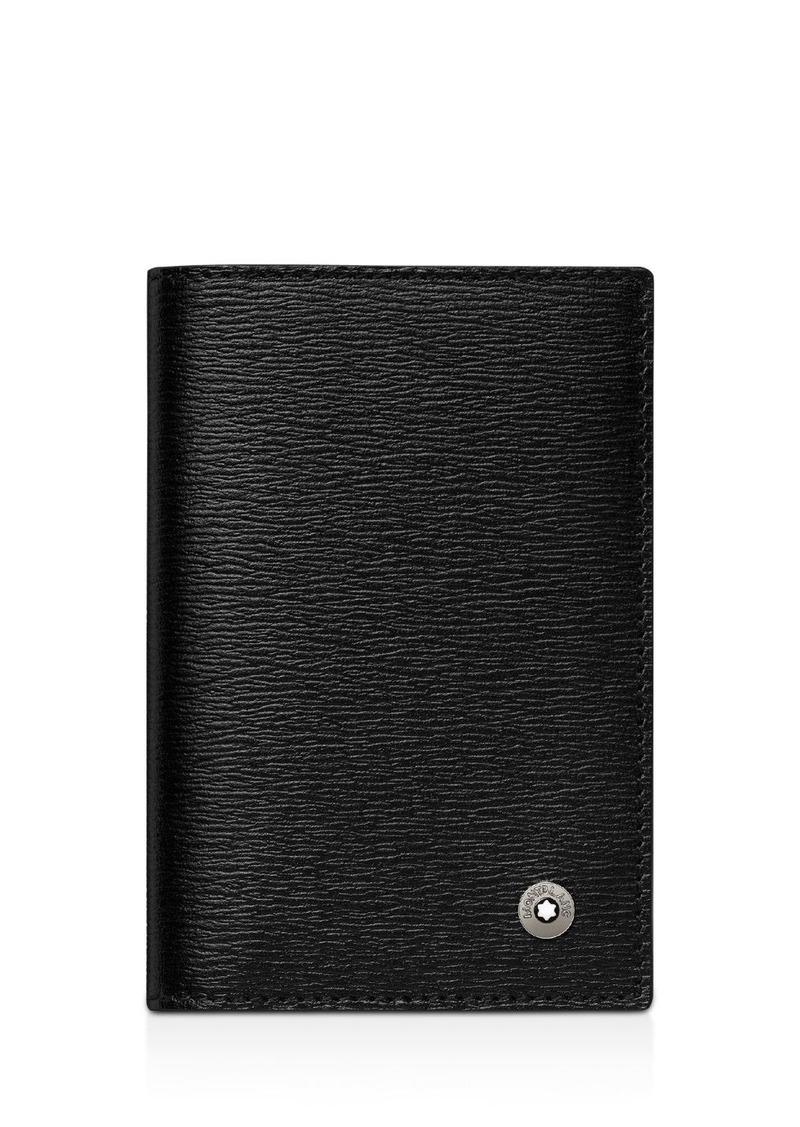 Montblanc 4810 Westside Leather Business-Card Holder