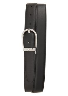 Montblanc Horseshoe Buckle Reversible Sartorial Leather Belt