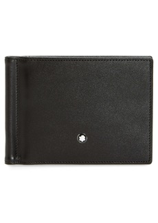 Montblanc Leather Money Clip Wallet