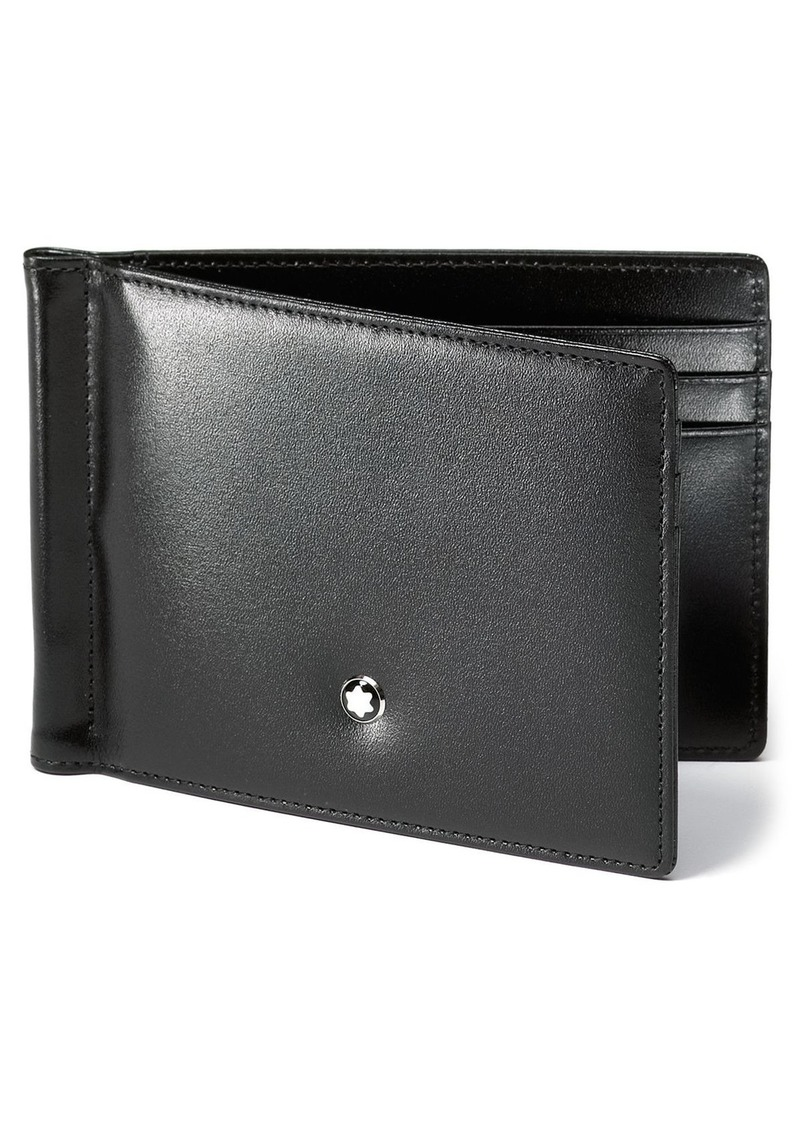Montblanc Meisterst�ck 6cc Leather Wallet with Money Clip