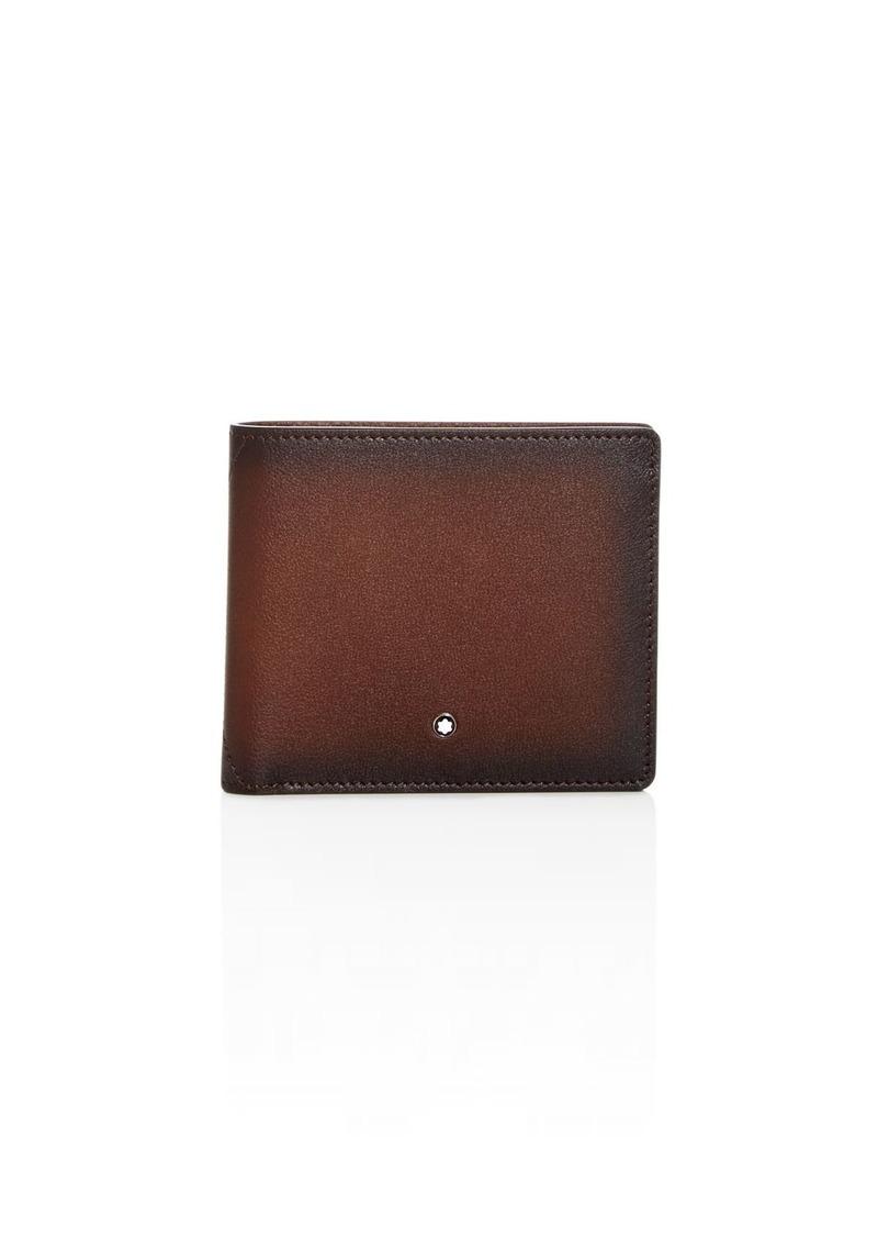 Montblanc Meisterst�ck Sfumato Burnished Leather Bi-Fold Wallet