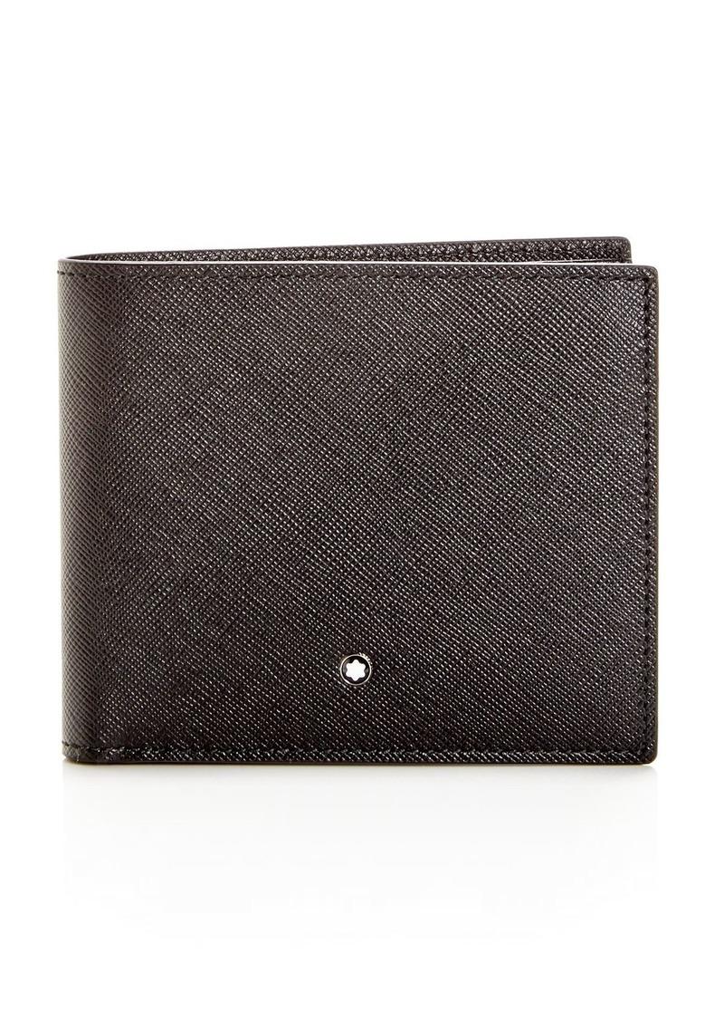 Montblanc Sartorial Embossed Leather Bi-Fold Wallet