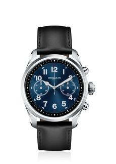 Montblanc Summit 2 Steel & Leather Smart Watch