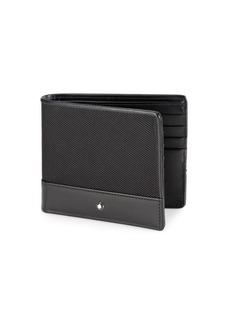 Montblanc Textured Nylon & Leather Wallet