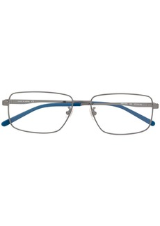 Montblanc two-tone square-frame glasses
