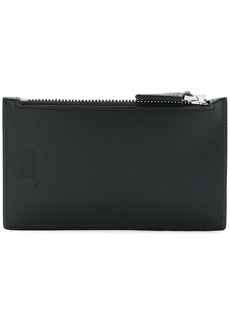 Montblanc zipped long wallet
