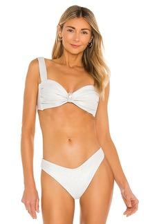 Montce Swim Hayden Pearl Bikini Top
