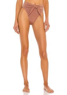 Montce Swim Paula Tie-Up Bikini Bottom