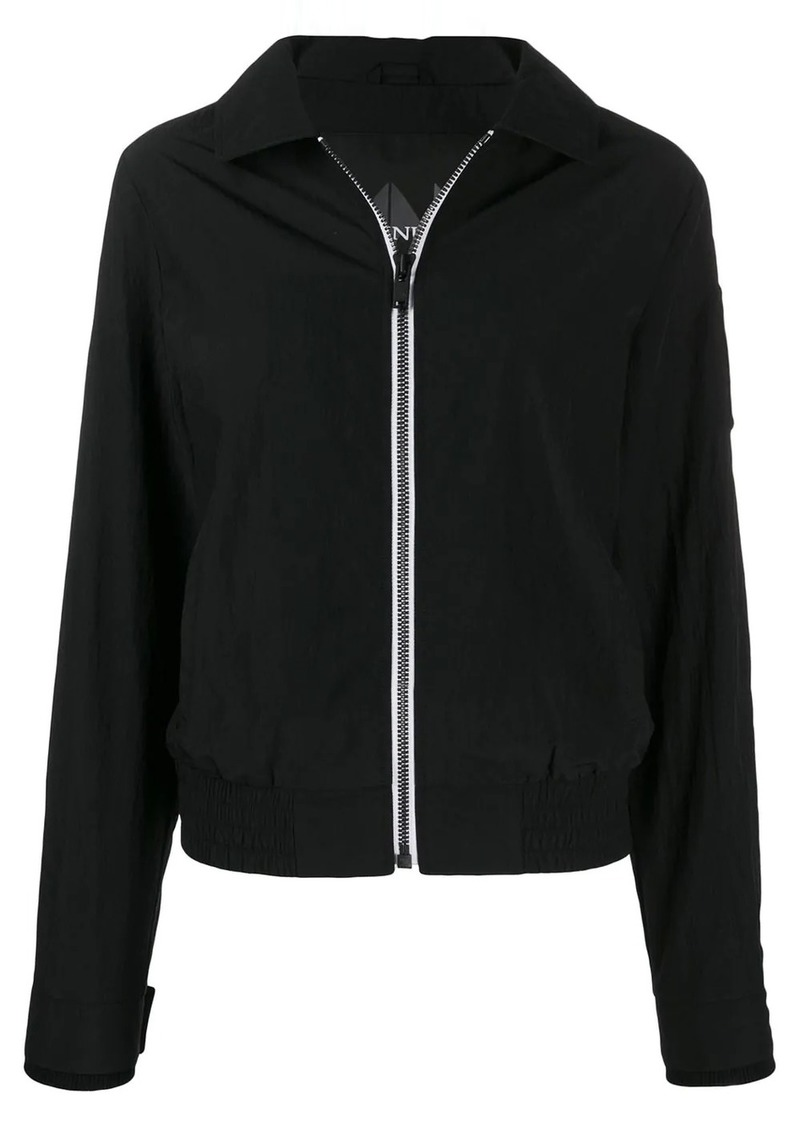 Moose Knuckles contrasting zip bomber jacket