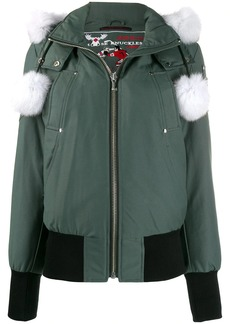 Moose Knuckles Debbie hooded padded jacket
