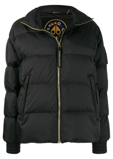 Moose Knuckles Ellie panelled puffer jacket