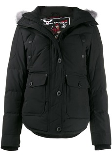 Moose Knuckles fitted padded coat