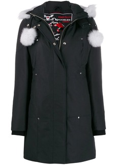 Moose Knuckles fur trim performance jacket