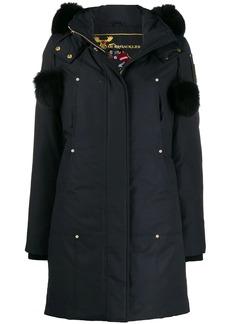 Moose Knuckles hooded parka coat