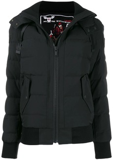 Moose Knuckles hooded puffer jacket