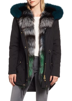 Moose Knuckles Foxy Stellar Parka with Genuine Rabbit Fur & Genuine Fox Fur
