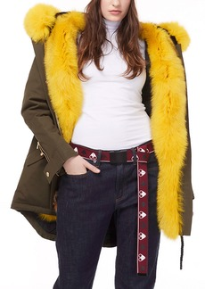 Moose Knuckles Genuine Fox Fur Lined Parka
