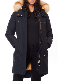 Moose Knuckles Grand Métis Down Parka with Genuine Fox Fur Trim