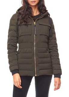 Moose Knuckles Kedgwick Hooded Down Jacket