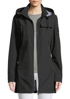 Moose Knuckles La Maurice Anorak Jacket w/ Removable Hood