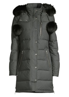 Moose Knuckles Paddockwood Fox Fur Trim Parka