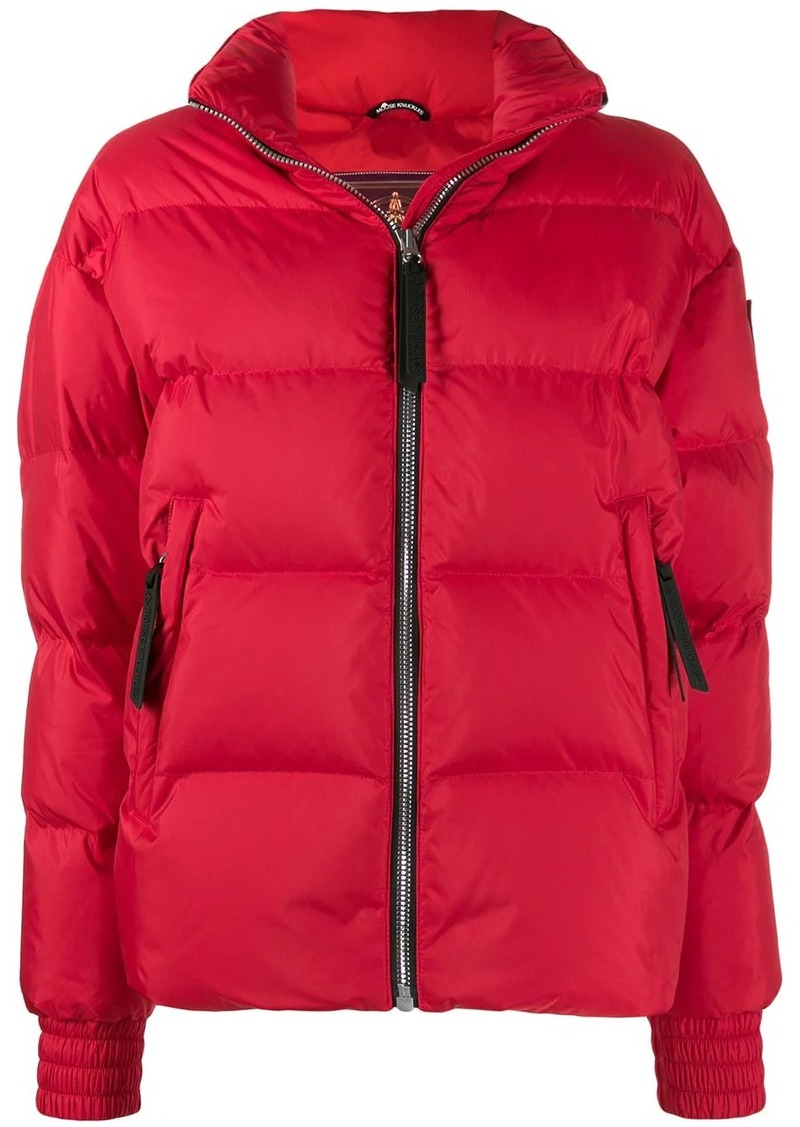 Moose Knuckles panelled puffer jacket