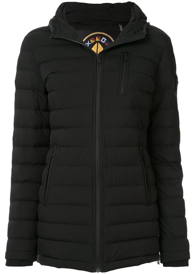 Moose Knuckles quilted puffer coat