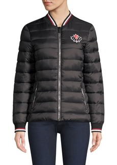 Moose Knuckles Sauvé Quilted Bomber Jacket