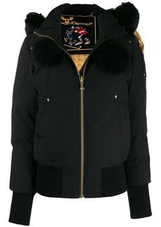 Moose Knuckles short hooded jacket