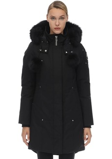 Moose Knuckles Stirling Cotton & Nylon Down Parka
